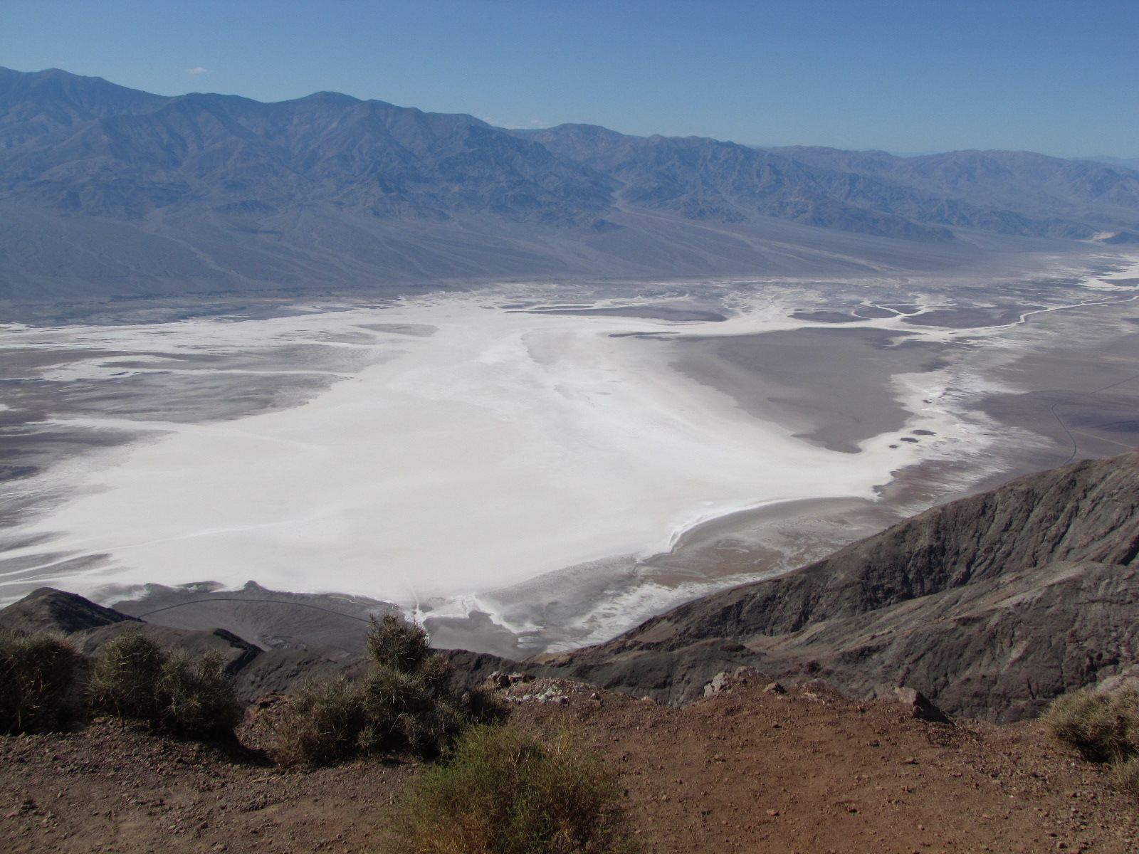 Bad Waters in death valley