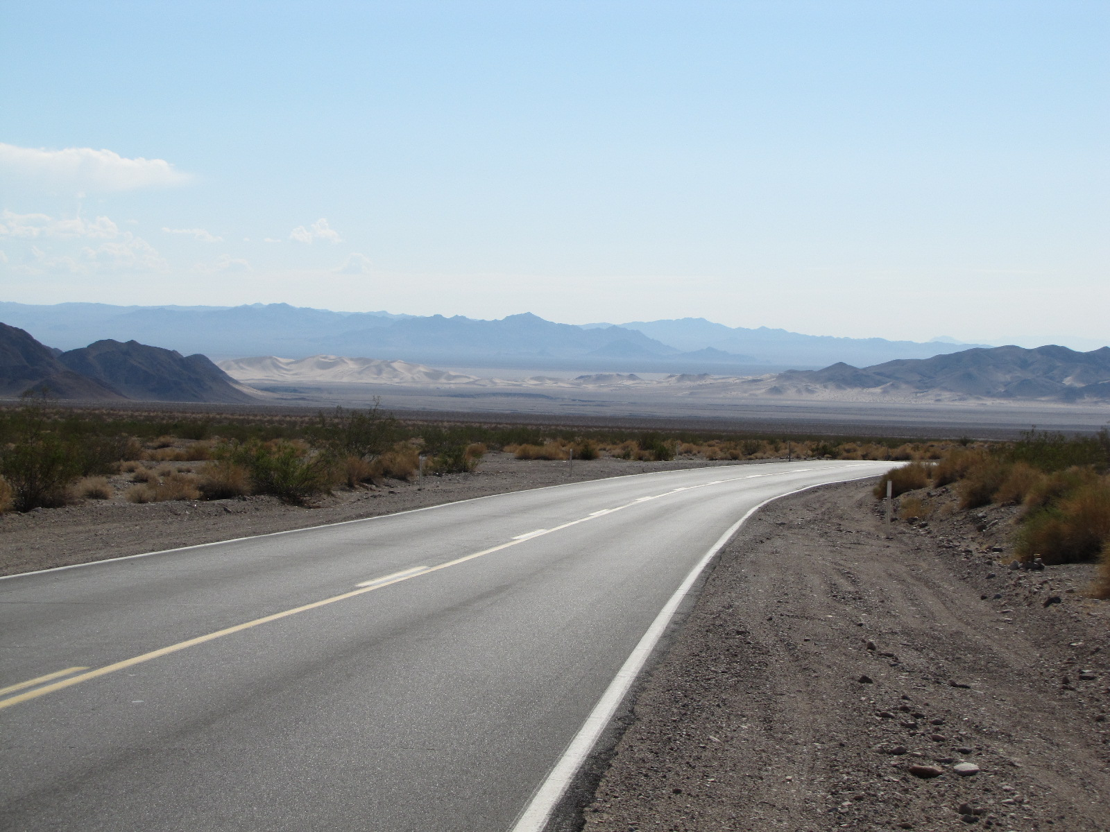 Interstate dans le desert ...