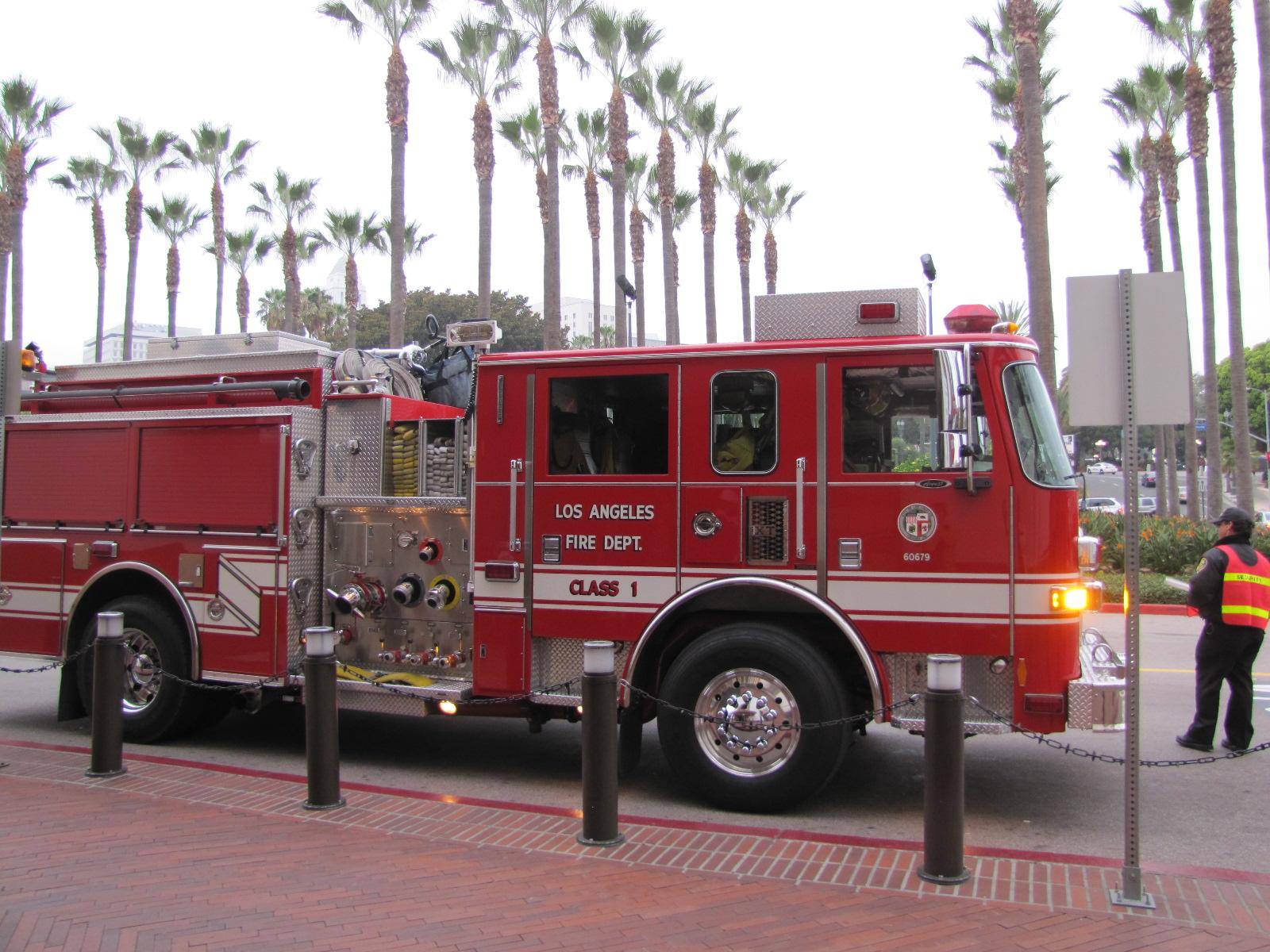 Camion de pompiers Los Angeles