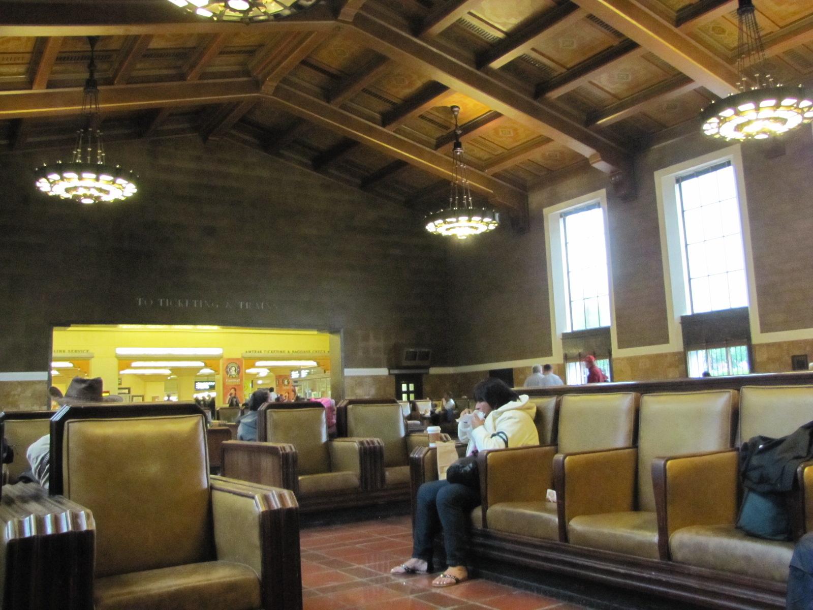 La gare de Los Angeles