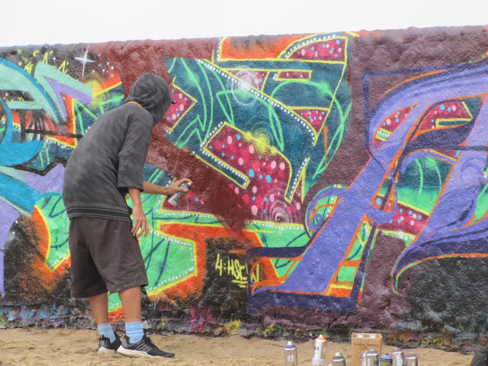 Mur des taggeurs de Venice Beach