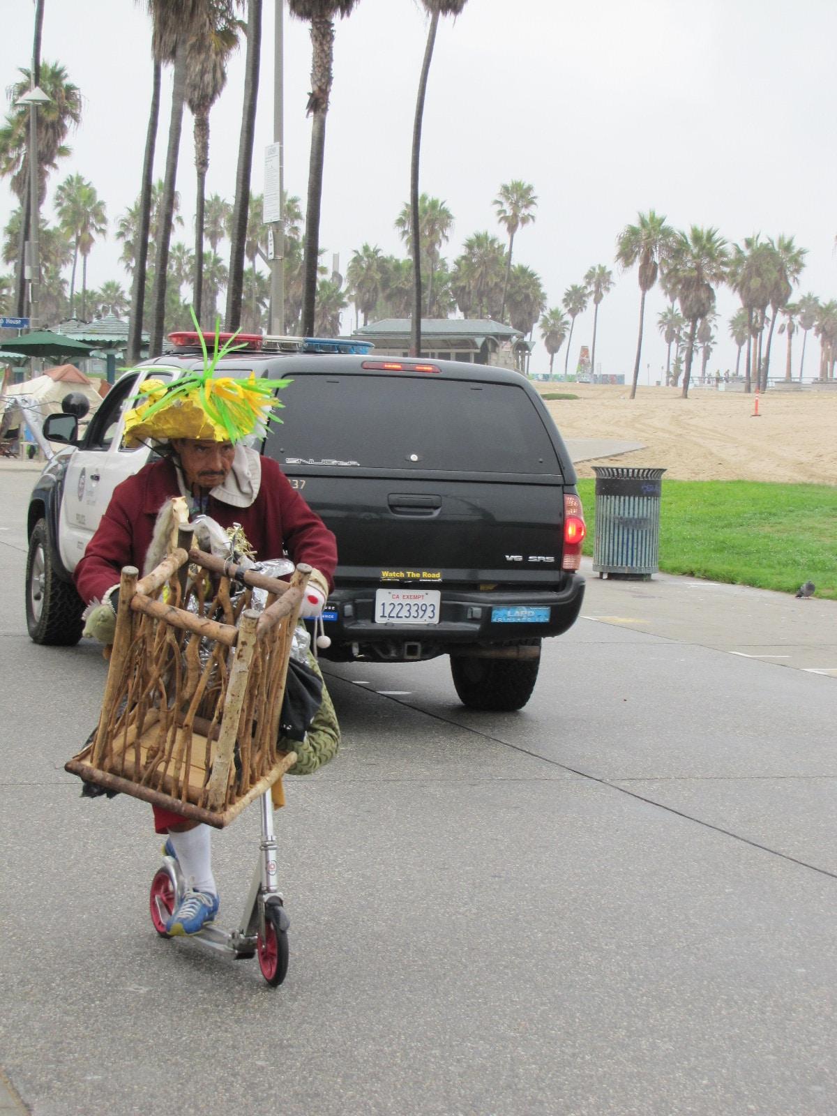 Personnalité locale de venice beach
