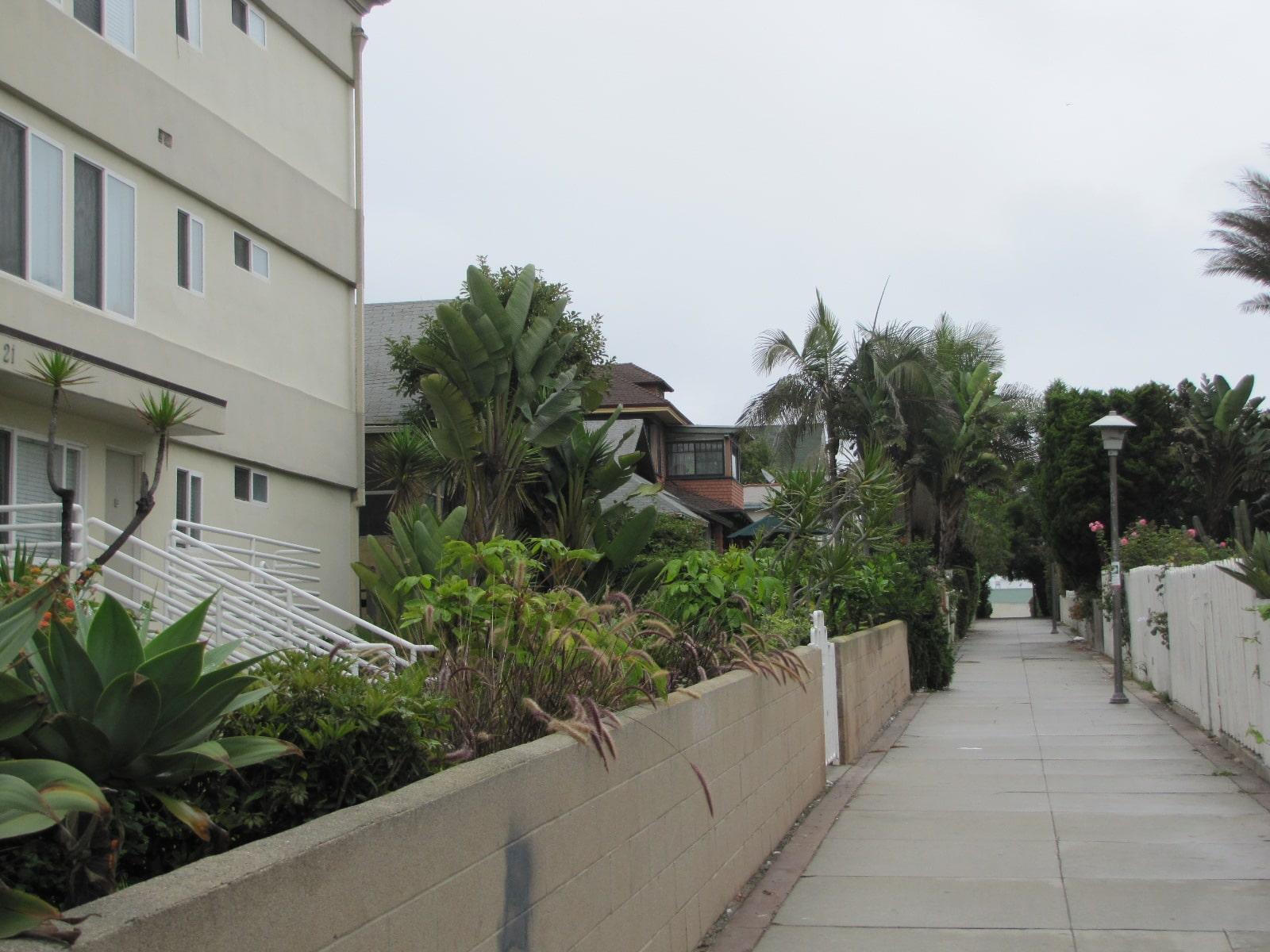 Le quartier de Venice beach
