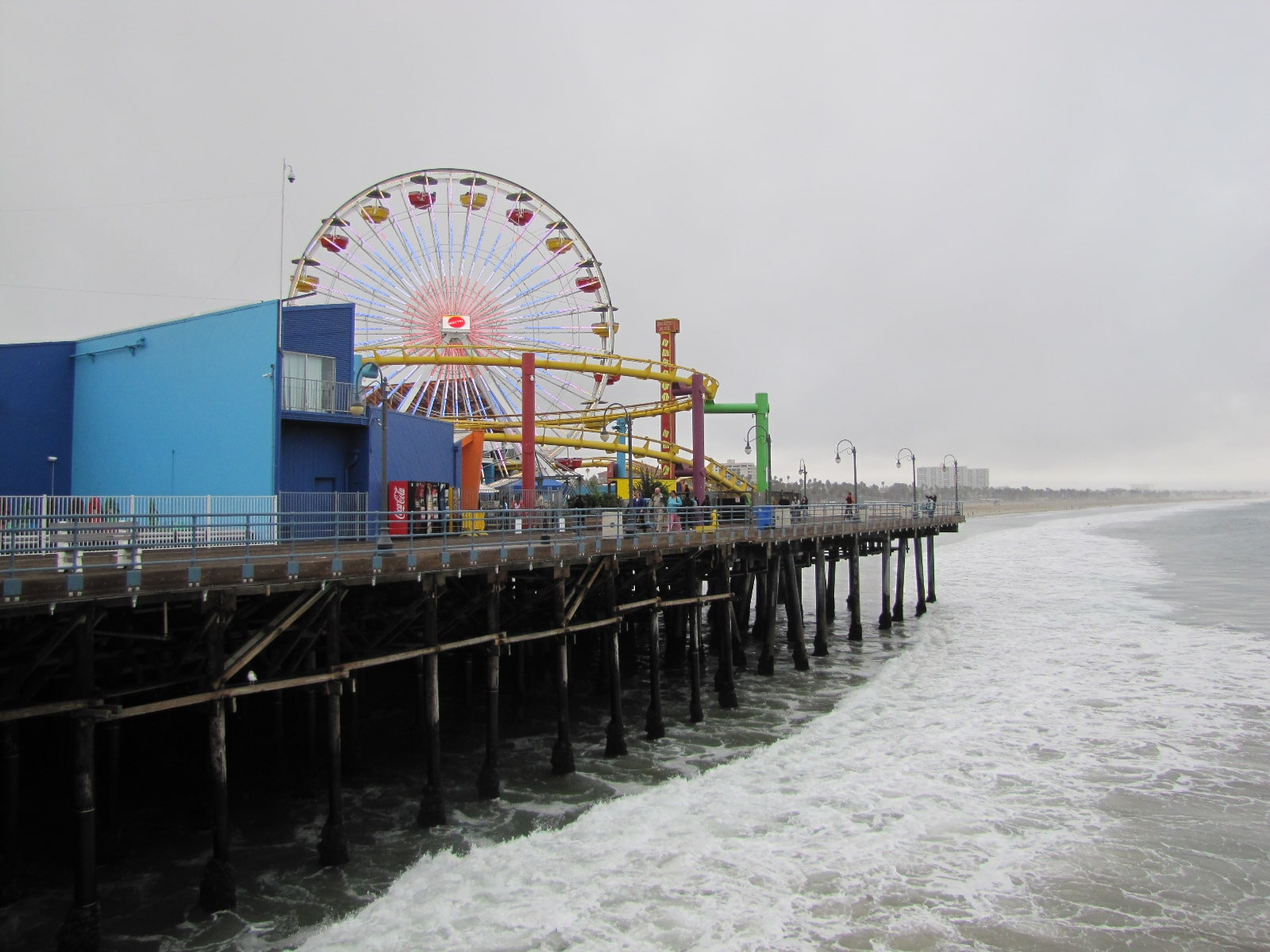 La fete foraine de Santa Monica