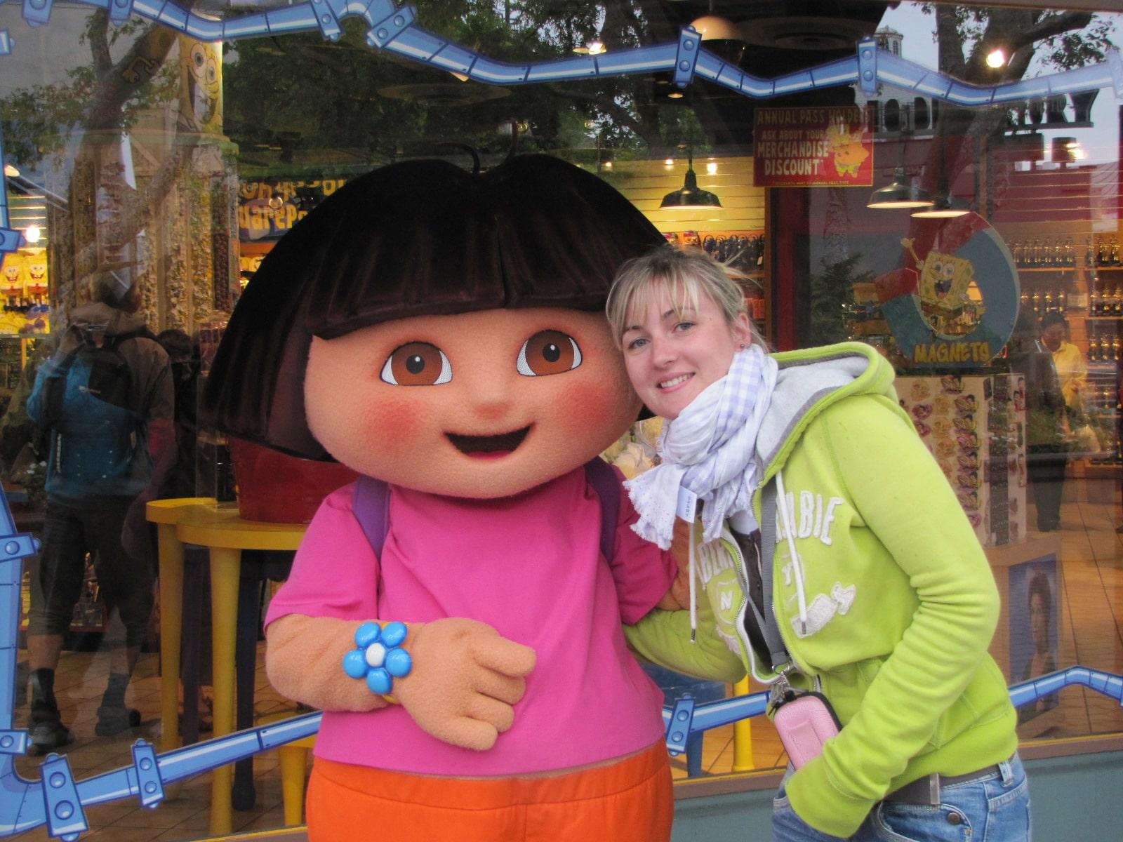 Anais et Dora l'exploratrice