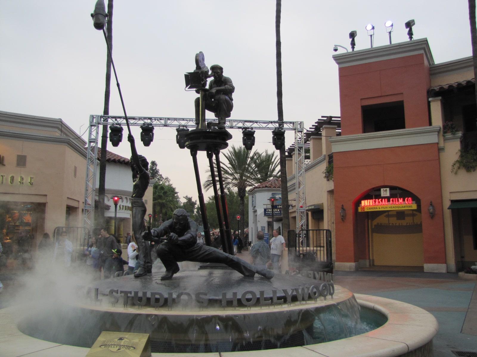 Entrée du parc Universal Studios