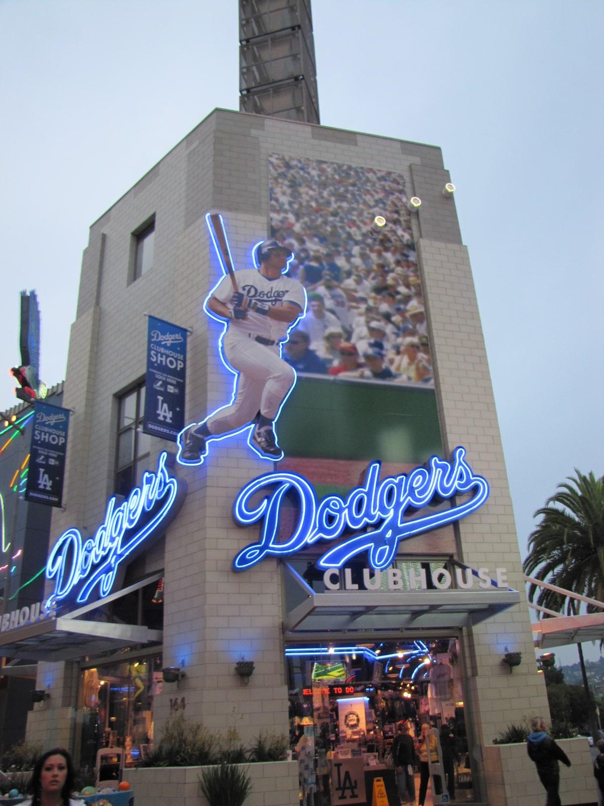 La boutique des Dodgers
