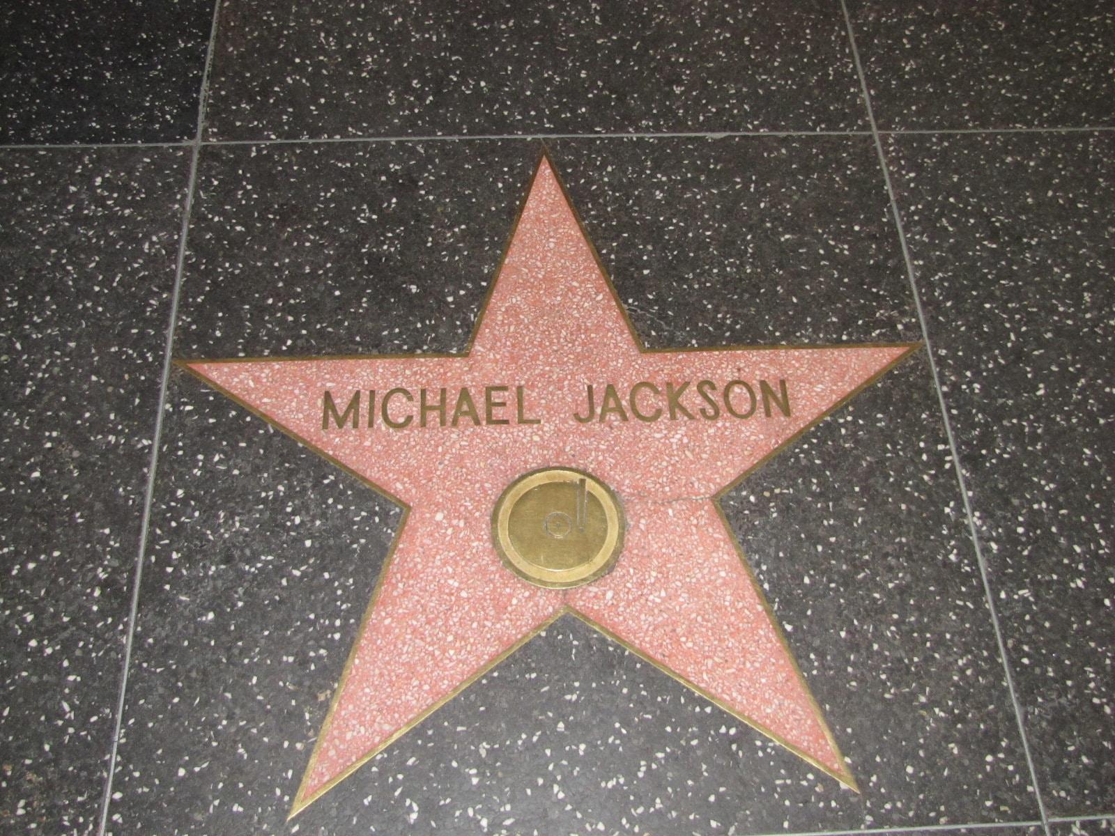 étoile de Michael Jackson pour les fans