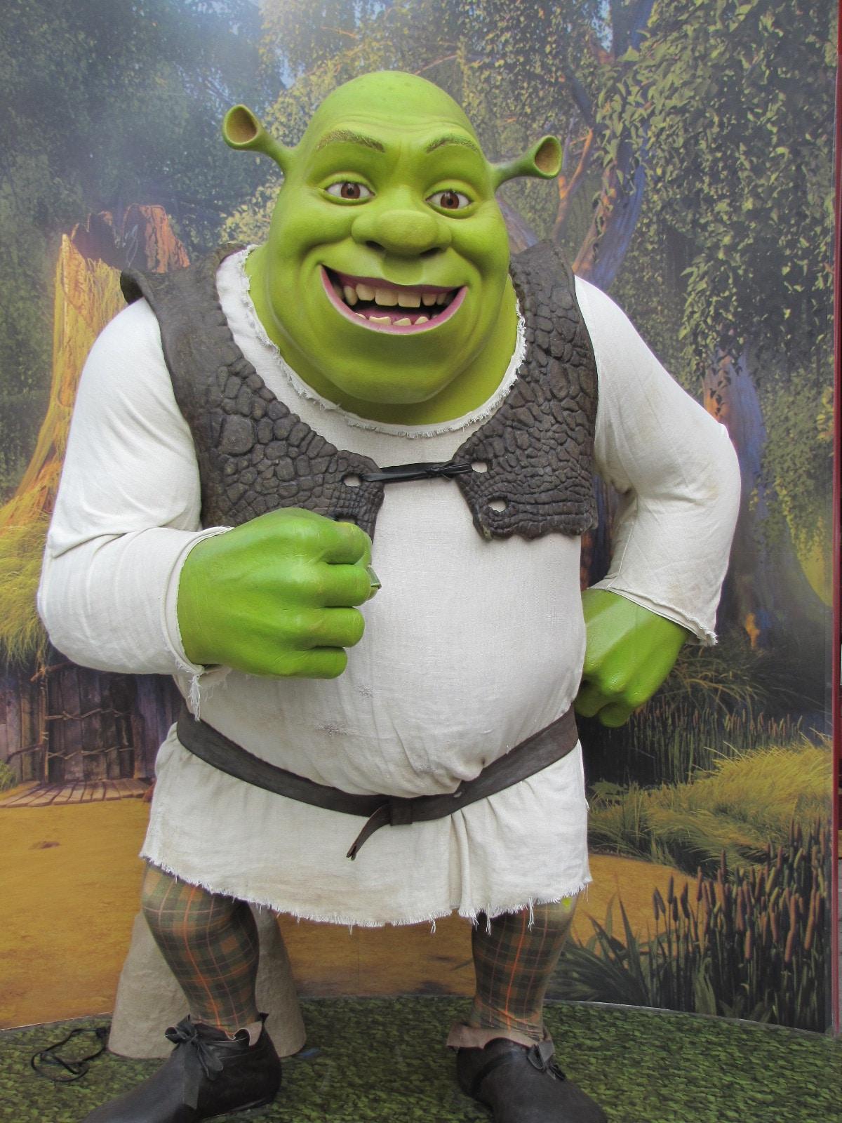 Shrek chez madame Tussauds