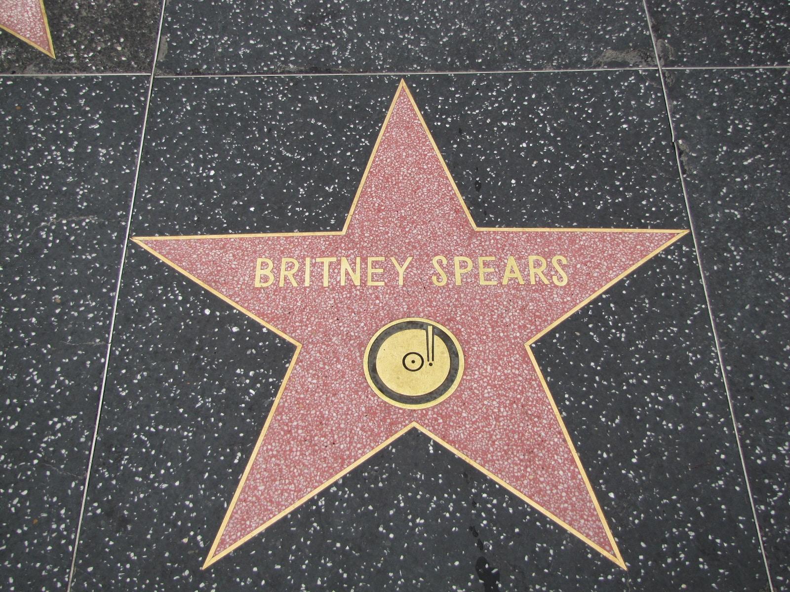 étoile de Britney Spears pour les Fans