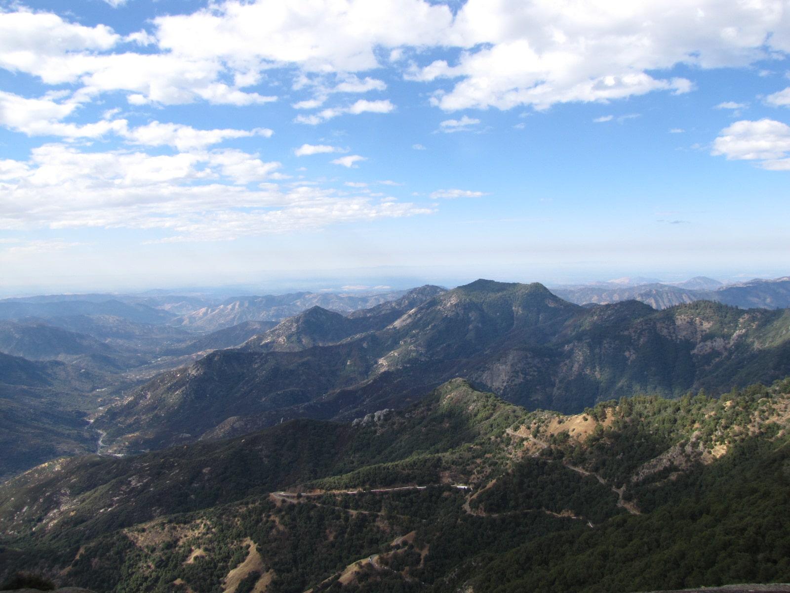 vue depuis Moro Rock - sequoia Park